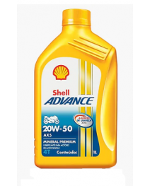 Shell Advanced AX5 20w50 1L